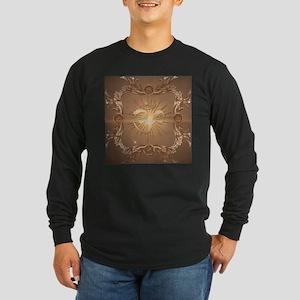 Om symbol made of rusty metal Long Sleeve T-Shirt