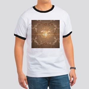 Om symbol made of rusty metal T-Shirt