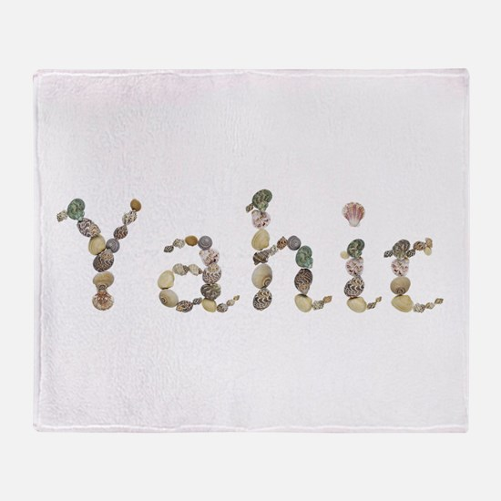 Yahir Seashells Throw Blanket