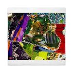Colorful patchwork fabric Queen Duvet