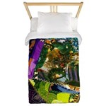 Colorful patchwork fabric Twin Duvet