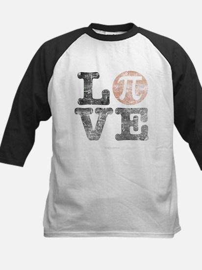 Love Pi Day Distressed Baseball Jersey