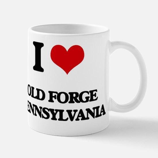 I love Old Forge Pennsylvania Mug