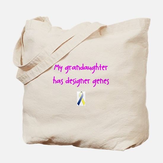 Designer Genes Grandaughter (P) Tote Bag