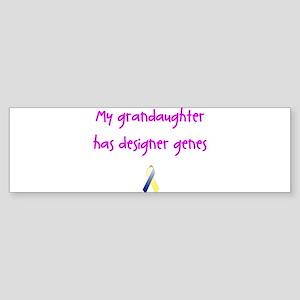 Designer Genes Grandaughter (P) Bumper Sticker