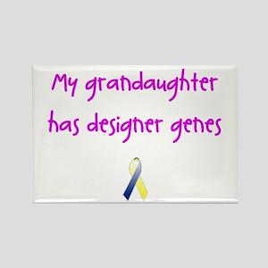 Designer Genes Grandaughter (P) Rectangle Magnet