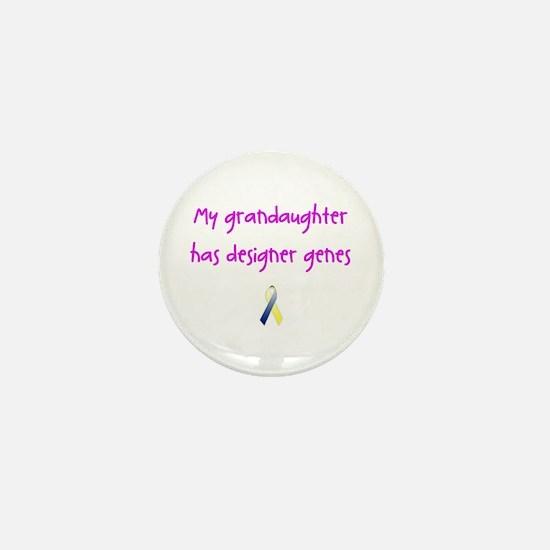 Designer Genes Grandaughter (P) Mini Button