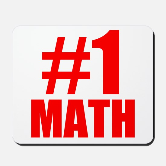 Number 1 Math Mousepad