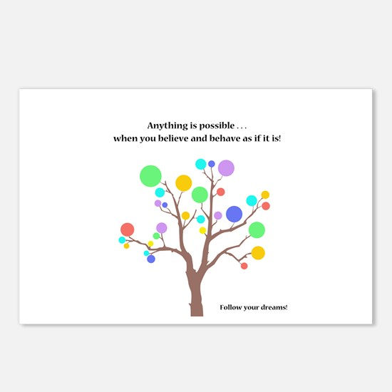 Anything Is Possible Gifts Postcards (Package of 8