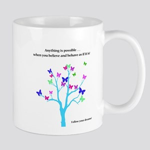 Anything Is Possible Butterflies Mugs