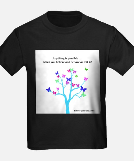 Anything Is Possible Butterflies T-Shirt
