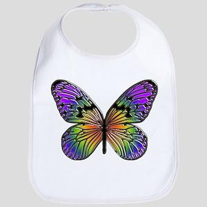 Butterfly Design Bib