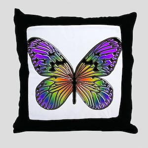 Butterfly Design Throw Pillow