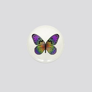 Butterfly Design Mini Button