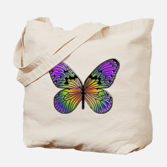 Butterfly Design Tote Bag
