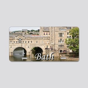 Pulteney Bridge, Avon River Aluminum License Plate