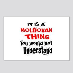 It Is Moldovan Thing Postcards (Package of 8)