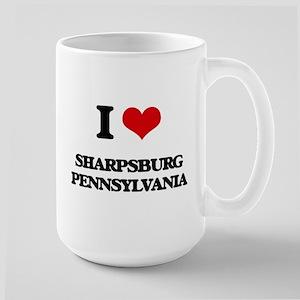 I love Sharpsburg Pennsylvania Mugs