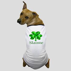 Slainte Shamrock Dog T-Shirt