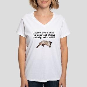 Catnip 2 Women's V-Neck T-Shirt