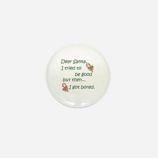 Dear Santa Mini Button (100 pack)
