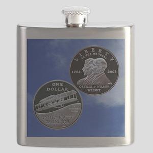 First Flight Commemorative Dollar Flask