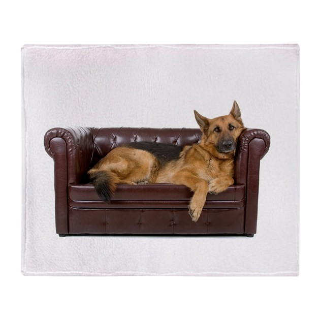 german shepherd blanket german shepherd on couch throw blanket by admin cp68057967 3325