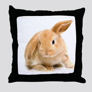 Spring Easter Bunny 2 Throw Pillow