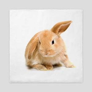 Spring Easter Bunny 2 Queen Duvet