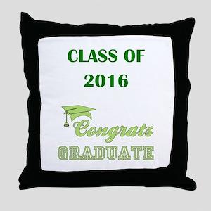 2016 GREEN Throw Pillow
