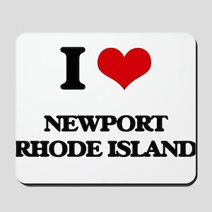 I love Newport Rhode Island Mousepad