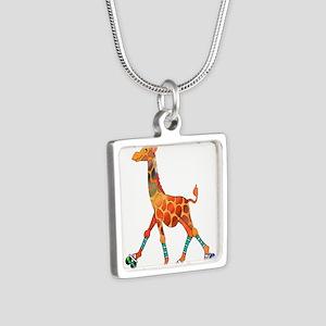 Roller Skating Giraffe Necklaces