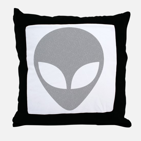 Cute Aliens Throw Pillow