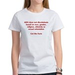 AIDS Doesn't Discriminate Women's T-Shirt