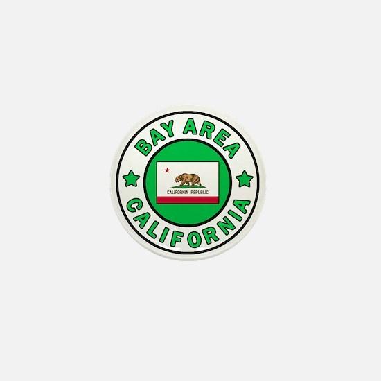 Bay Area Mini Button