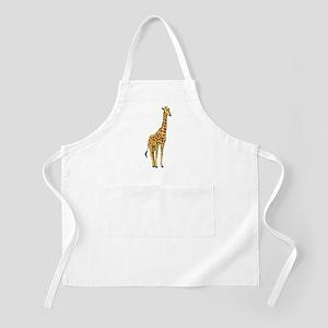 Very Tall Giraffe Illustration Apron