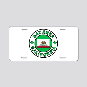 Bay Area Aluminum License Plate