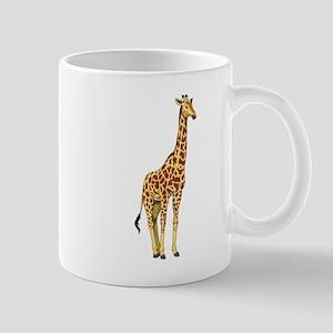 Very Tall Giraffe Illustration Mugs
