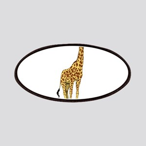 Very Tall Giraffe Illustration Patch
