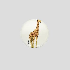 Very Tall Giraffe Illustration Mini Button