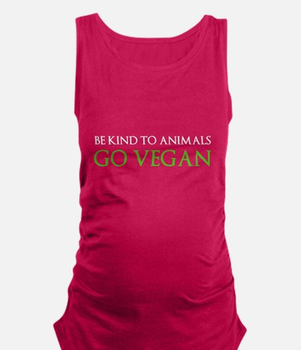 Go Vegan Maternity Tank Top