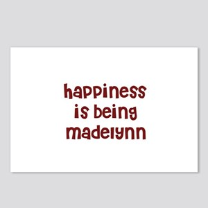 happiness is being Madelynn Postcards (Package of