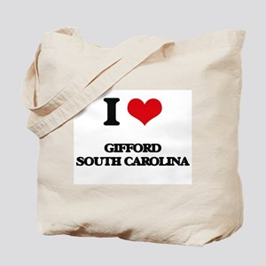 I love Gifford South Carolina Tote Bag