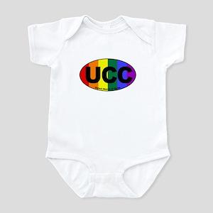 UCC United Church of Christ Rainbow Euro Infant Bo