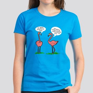 Flamingo Fun Women's Dark T-Shirt
