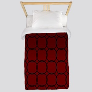 Majestic Red Twin Duvet