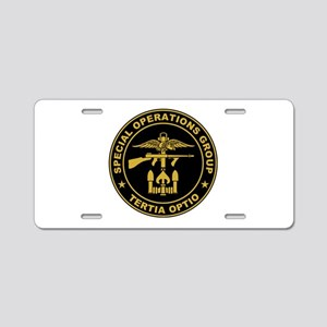 SOG - Tertia Optio Aluminum License Plate