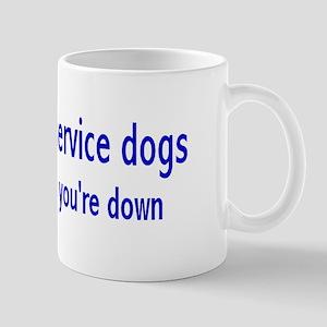 """Psychiatric Service Dogs"" Mug"