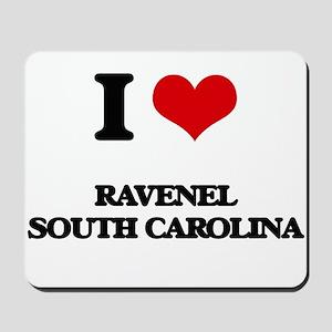 I love Ravenel South Carolina Mousepad