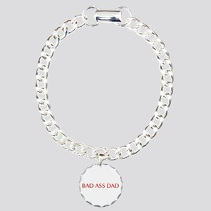 Bad ass dad-Opt red 550 Bracelet